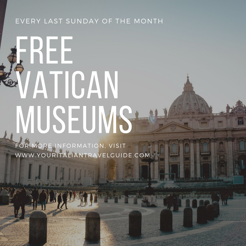 free vatican museums your itaian travel guide italy