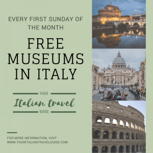 Free museums Italy your italian travel guide